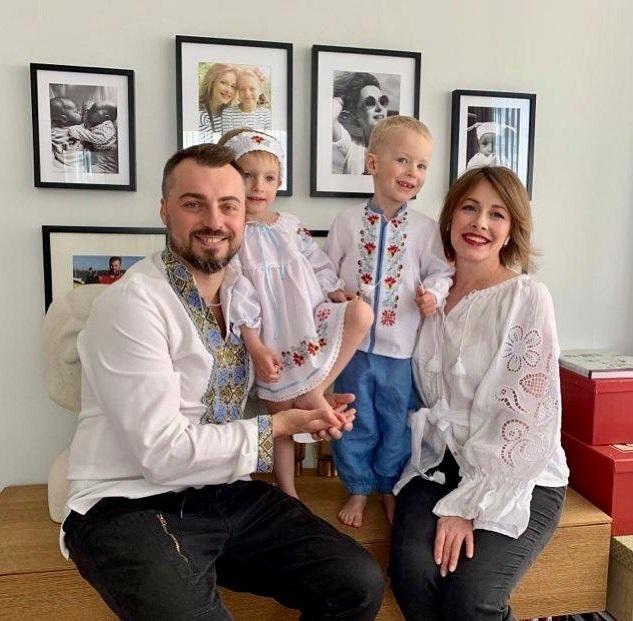 день семьи самые крепкие пары звезд украина шоу-бизнес елена кравец муж дети близнецы