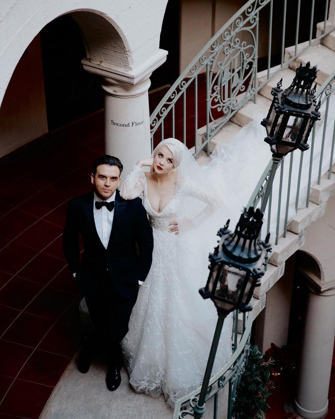 мика ньютон муж свадьба отношения