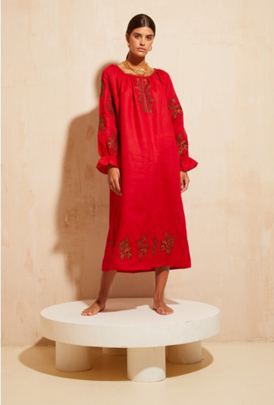 день вышиванки незалежНості независимости украинский бренд где купить платье вышитое красное