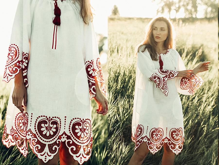 день вышиванки незалежНості независимости украинский бренд где купить платье вышитое белое красное