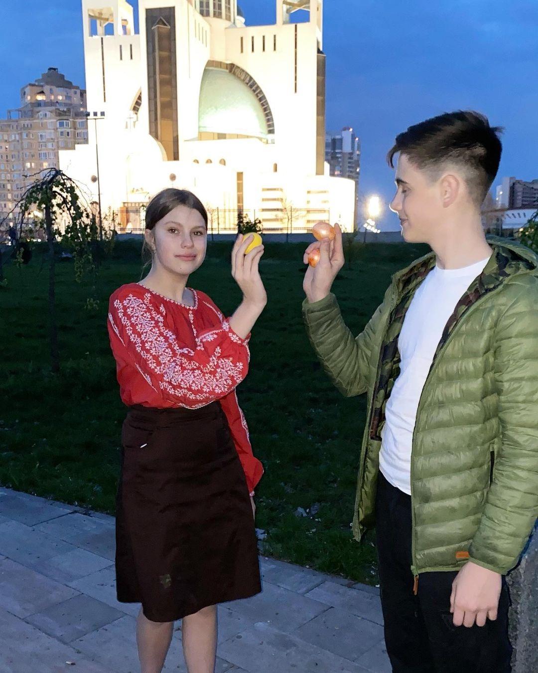 украинские звезды пасха 2021 как отметили паски крашанки декор лидия таран дочь василина