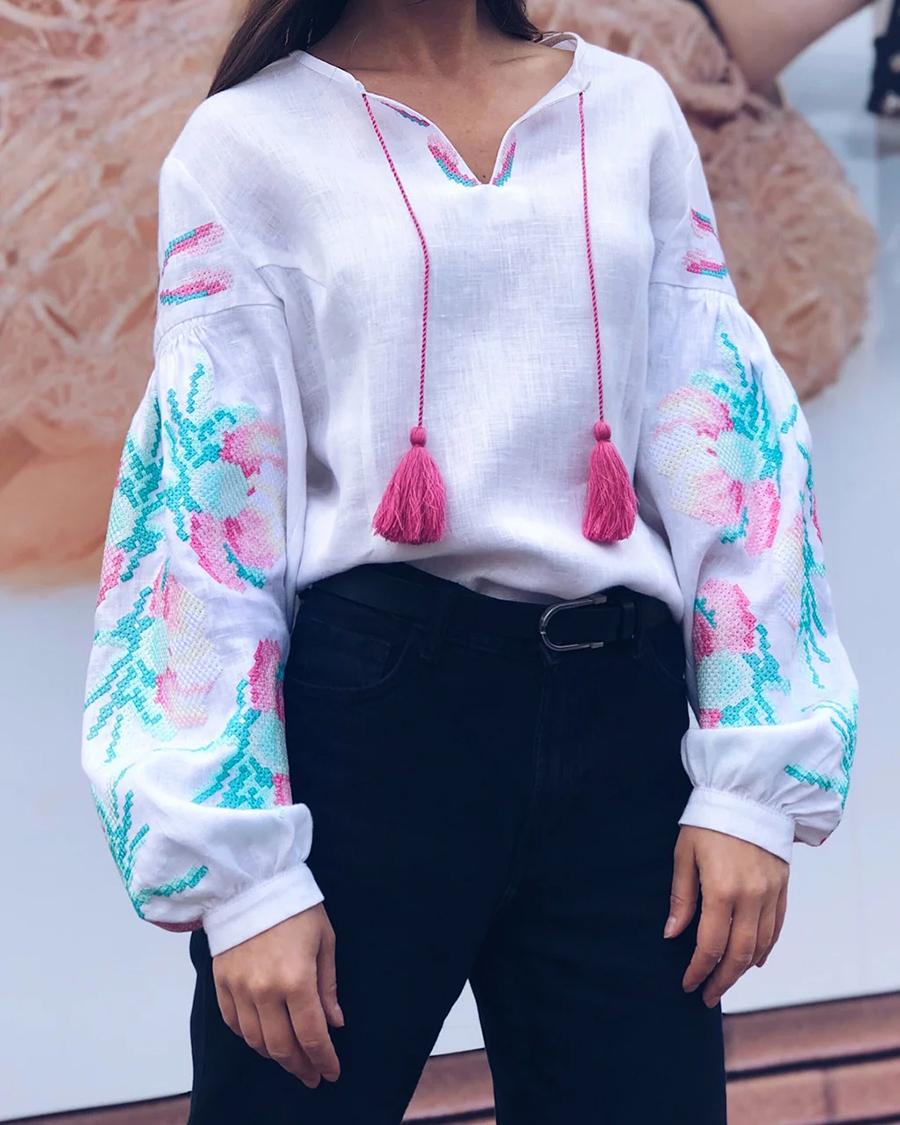 день вышиванки незалежНості независимости украинский бренд где купить оригинальный цвет розовая белая зеленая яркая