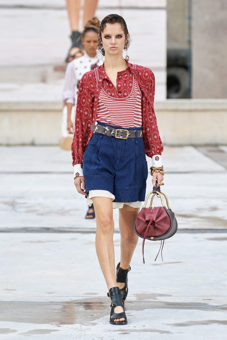 джинсовые шорты 2021 лето мода