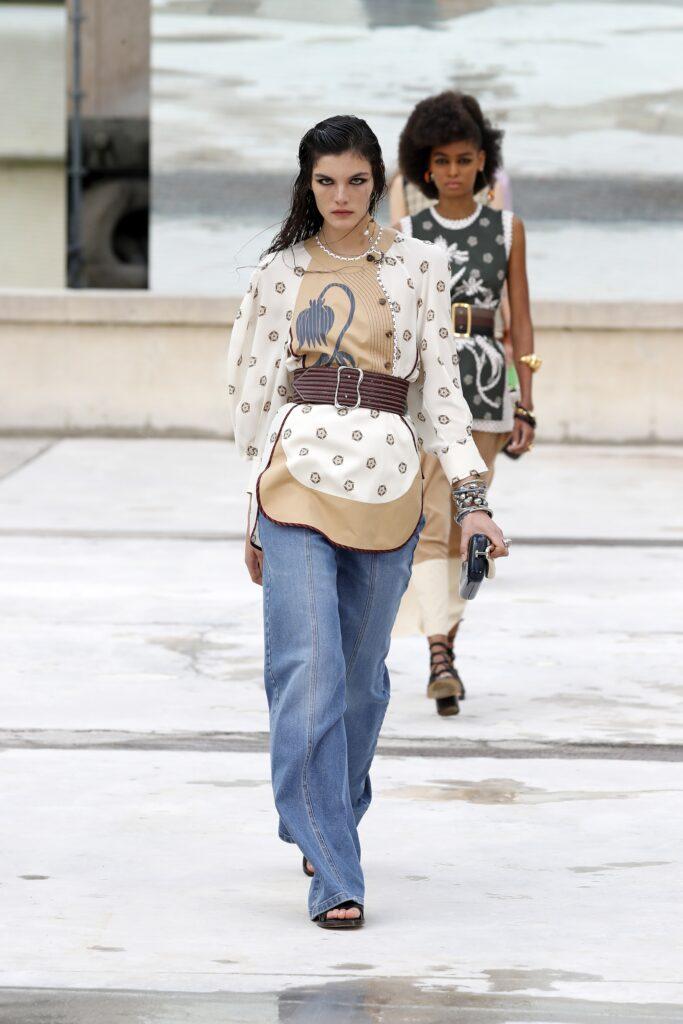стиль бохо что такое мода лето 2021 как носить туника джинсы