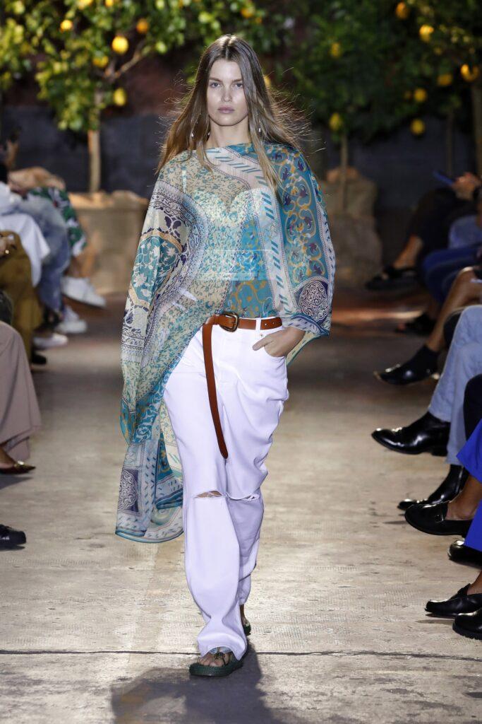 стиль бохо что такое мода лето 2021 как носить туника джинсы принты