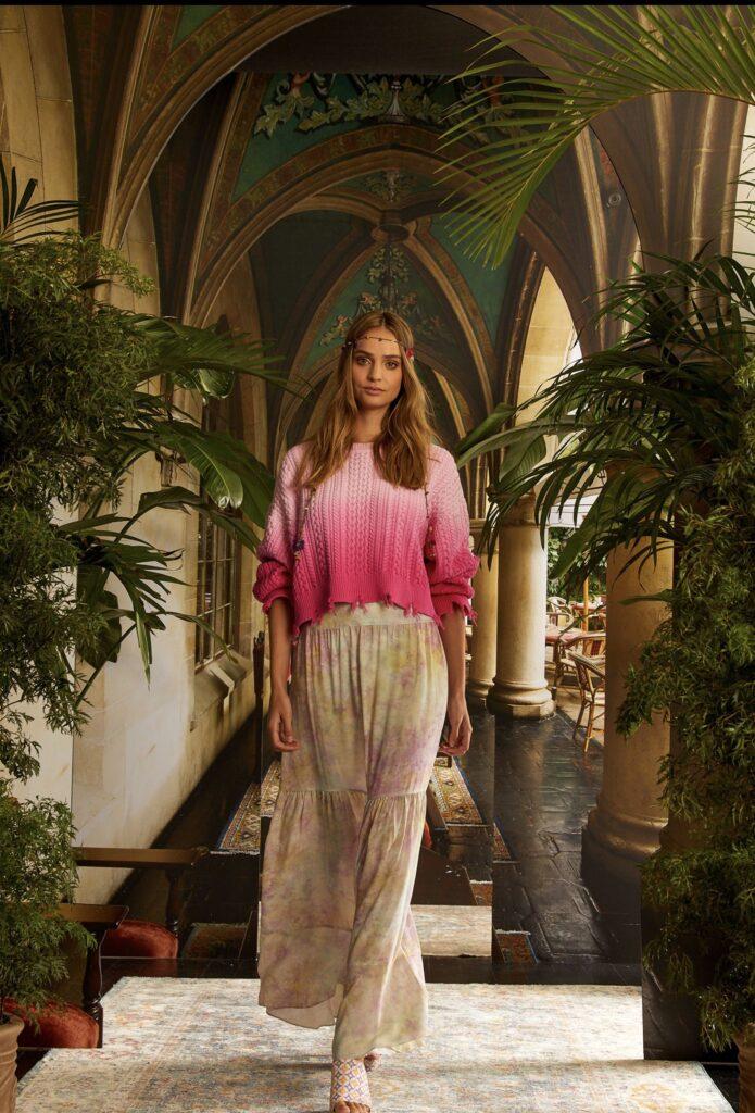 стиль бохо что такое мода лето 2021 как носить юбка макси