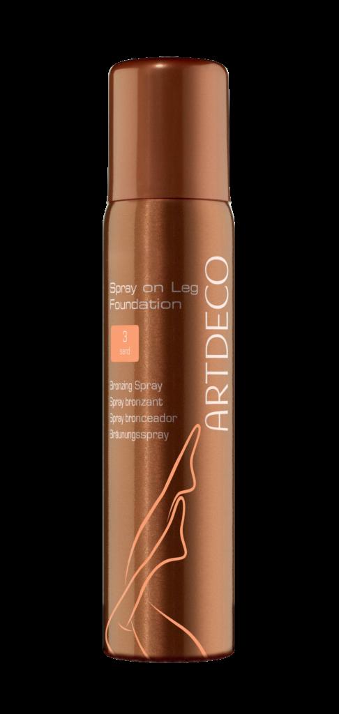 Бронзирующий спрей для ног Spray on Leg Foundation, Artdeco