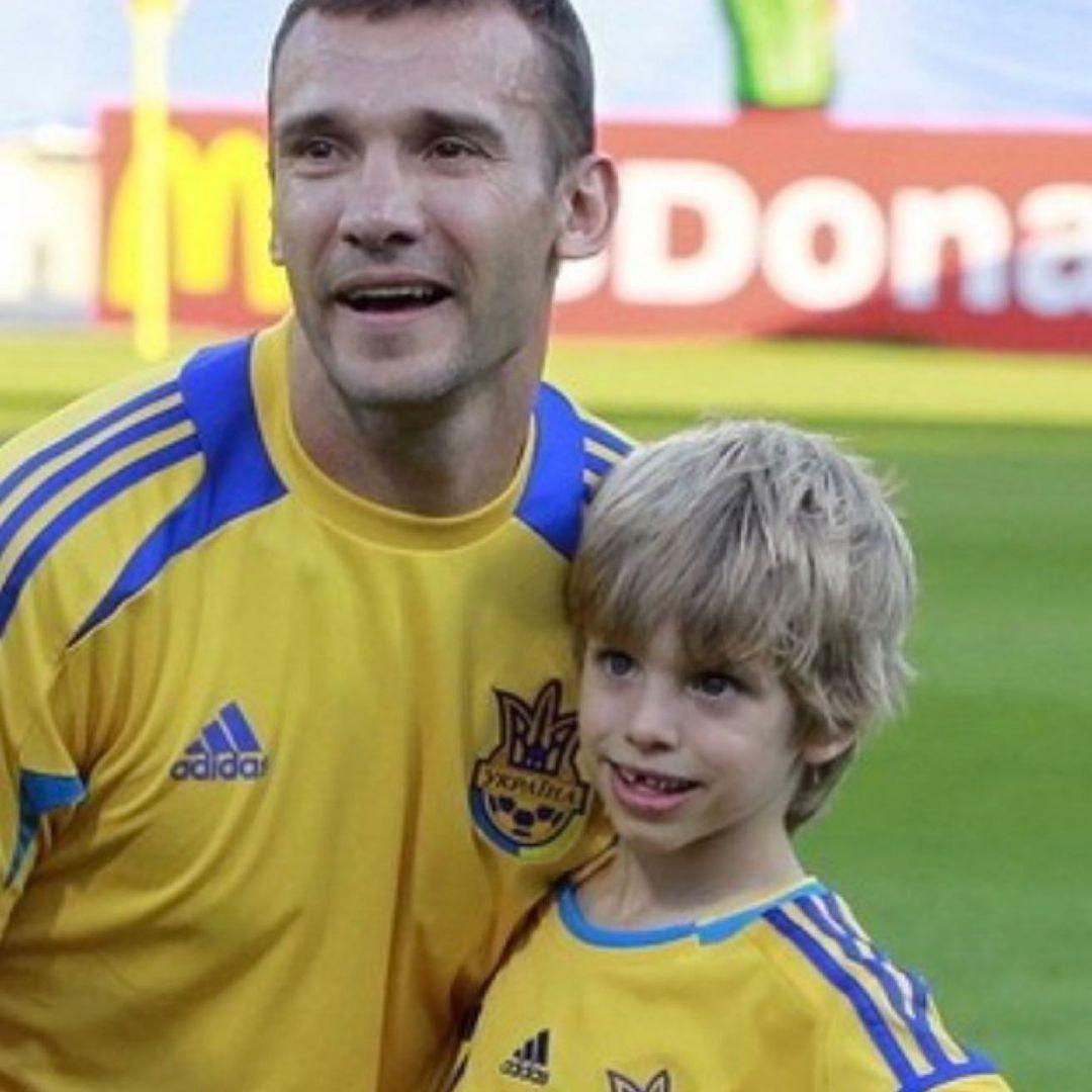 андрей шевченко тренер сборной евро 2020 семья дети сыновья жена день отца 2021 украинские звезды как поздравили