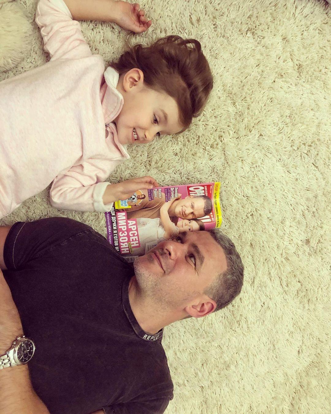 тоня матвиенко муж арсен мирзоян дочь нина семья день отца 2021 украинские звезды как поздравили