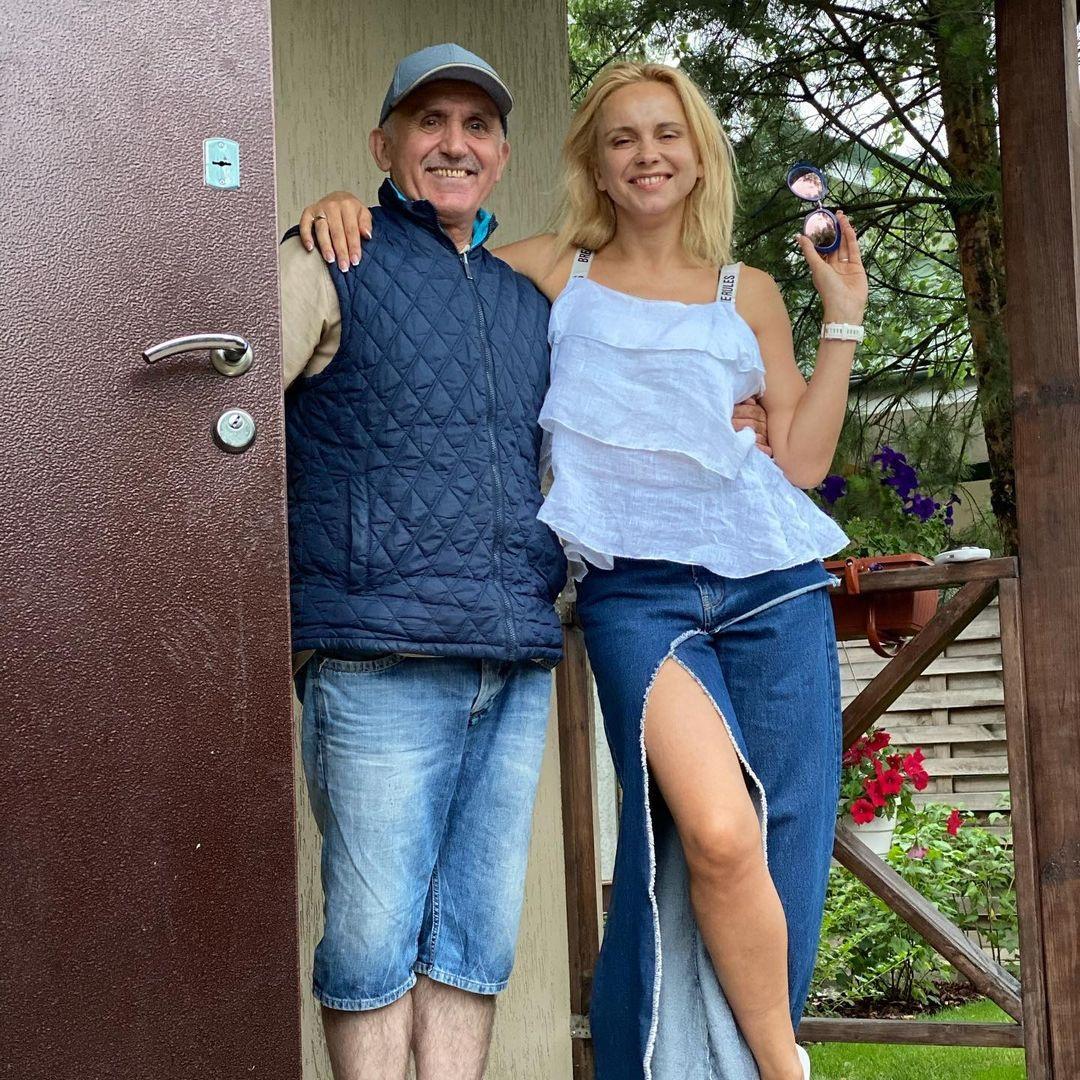 лилия ребрик семья отец день отца 2021 украинские звезды как поздравили