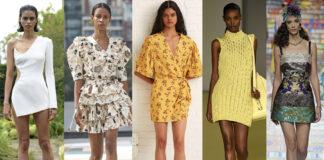 мини-платье модное лето 2021