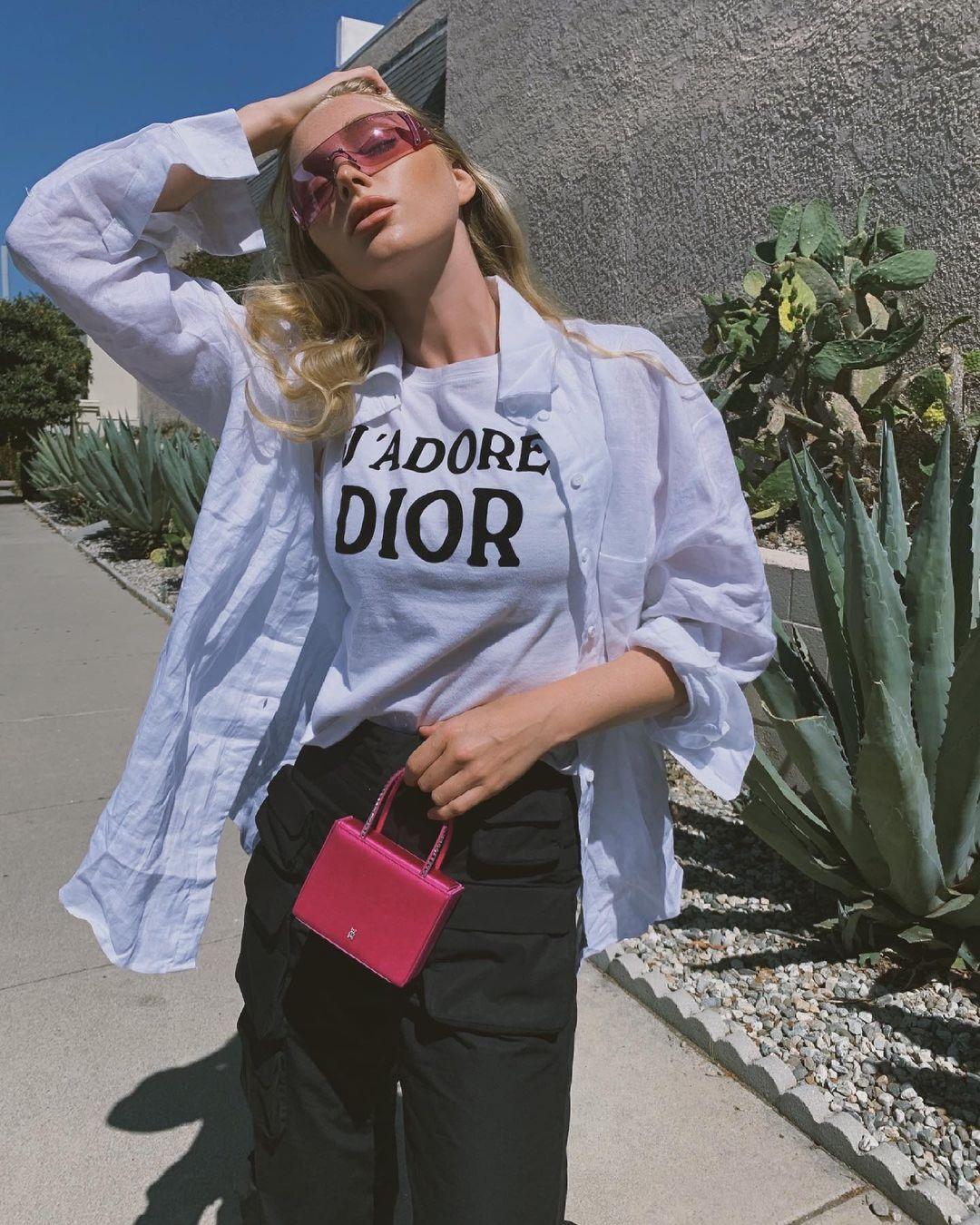 модные розовые очки лето 2021 тренд цветные
