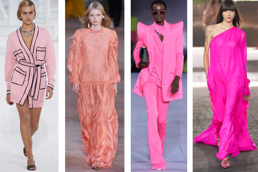 розовый мода 2021 тренд лето