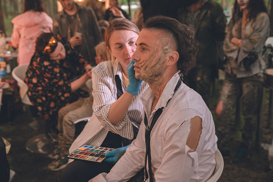 группа антитіла тарас тополя новый клип маскарад зомби