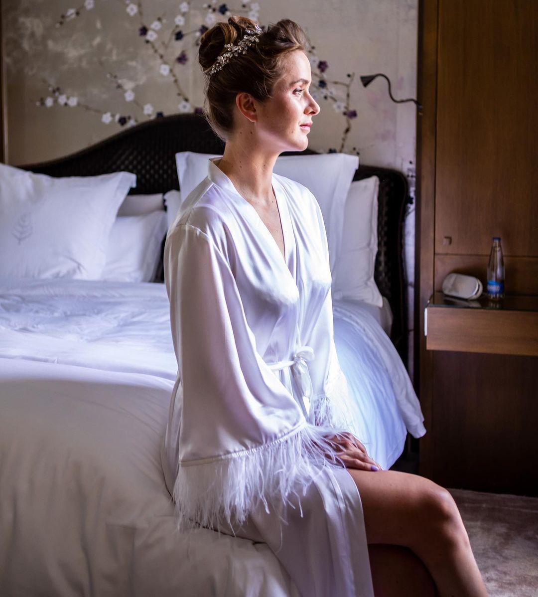 элина свитолина гаэль монфис свадьба платье