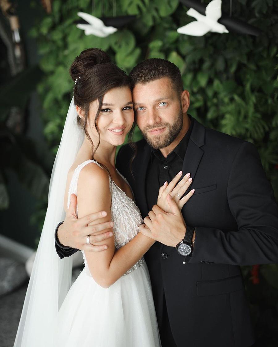 юля юлия зайка бельченко холостяк 11 финалистка вышла замуж свадьба богдан юсипчук
