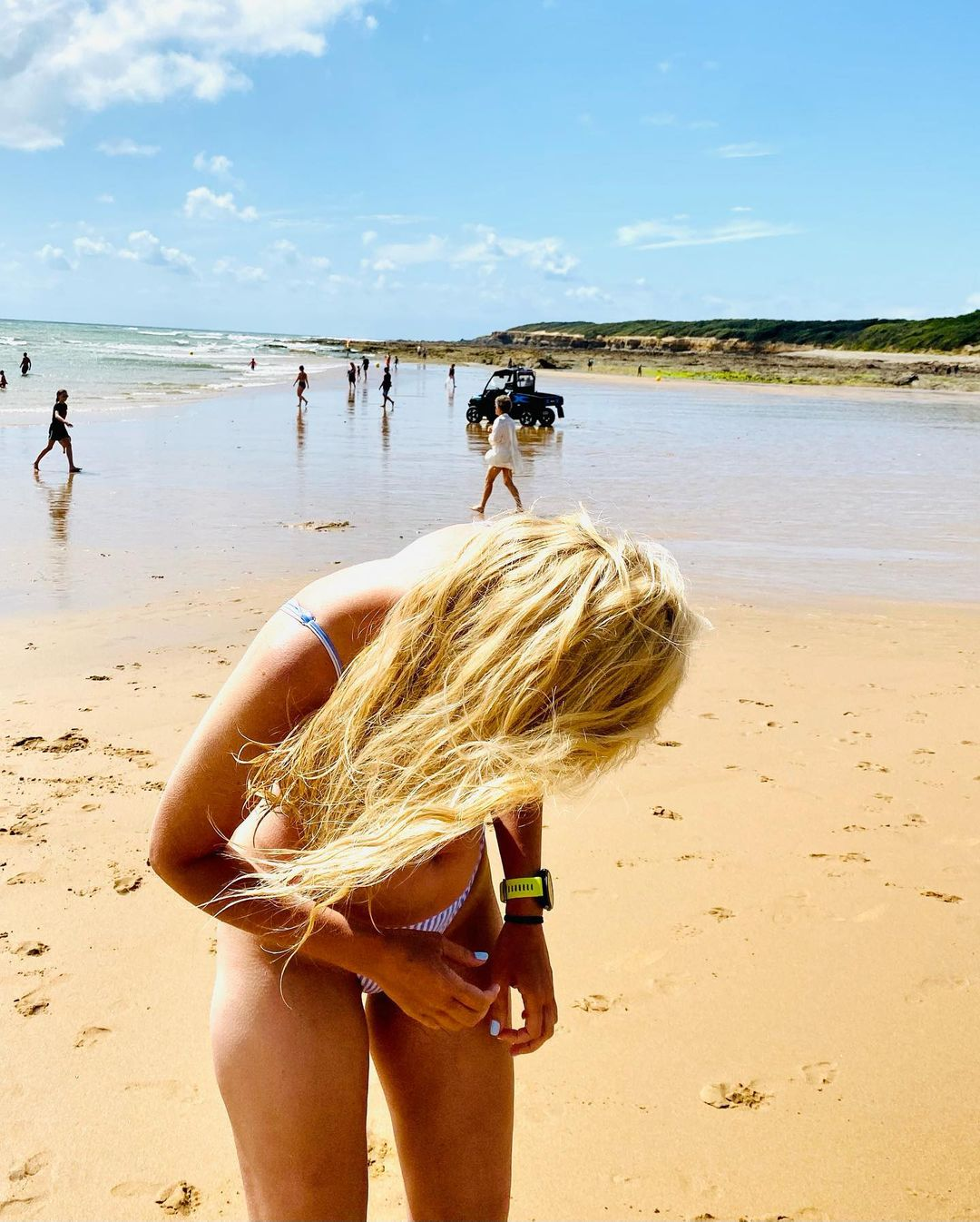 лидия таран вкупальнике отпуск на море