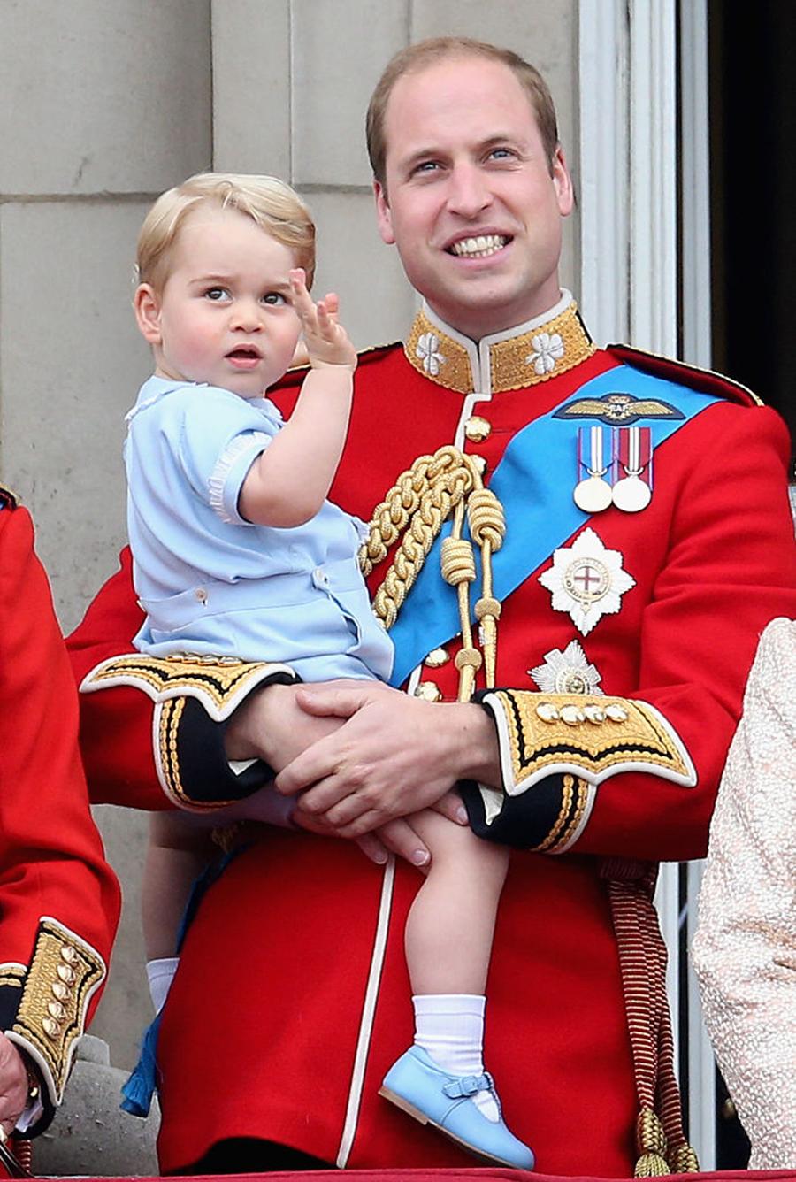 принц джордж день рождения лучшие фото