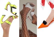 модная обувь на каблуке лето 2021 босоножки мюли шлепанцы шпилька