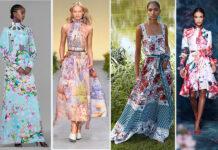 модные платья цветочные цветы цветочный пинт