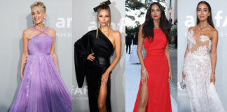 платье вечернее красивое светская хроника канны amfar 2021