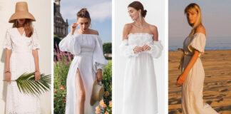 модное белое платье лето 2021 хлопковое льняное шелковое украинский бренд