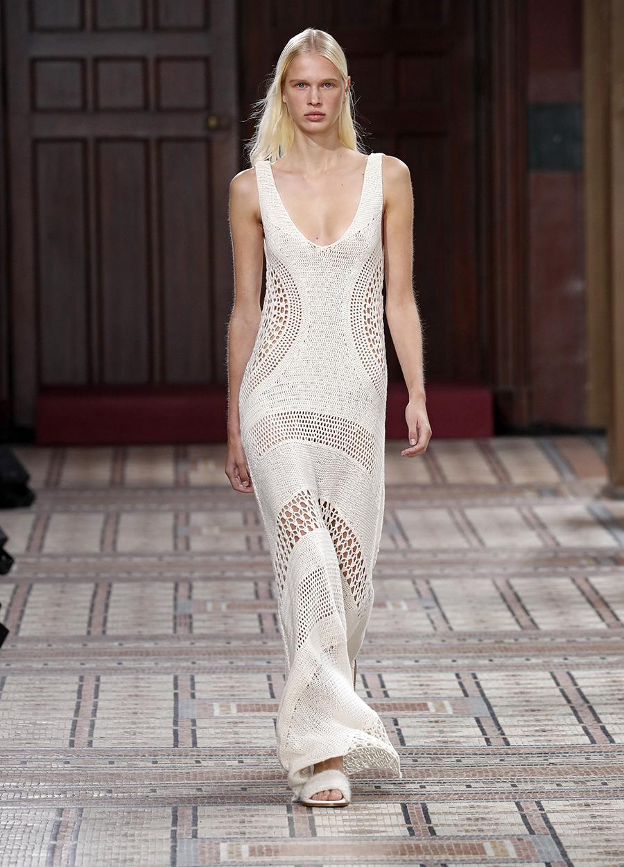 модный сарафан белый лето 2021 тренды что купить в жару длинный макси белый макраме