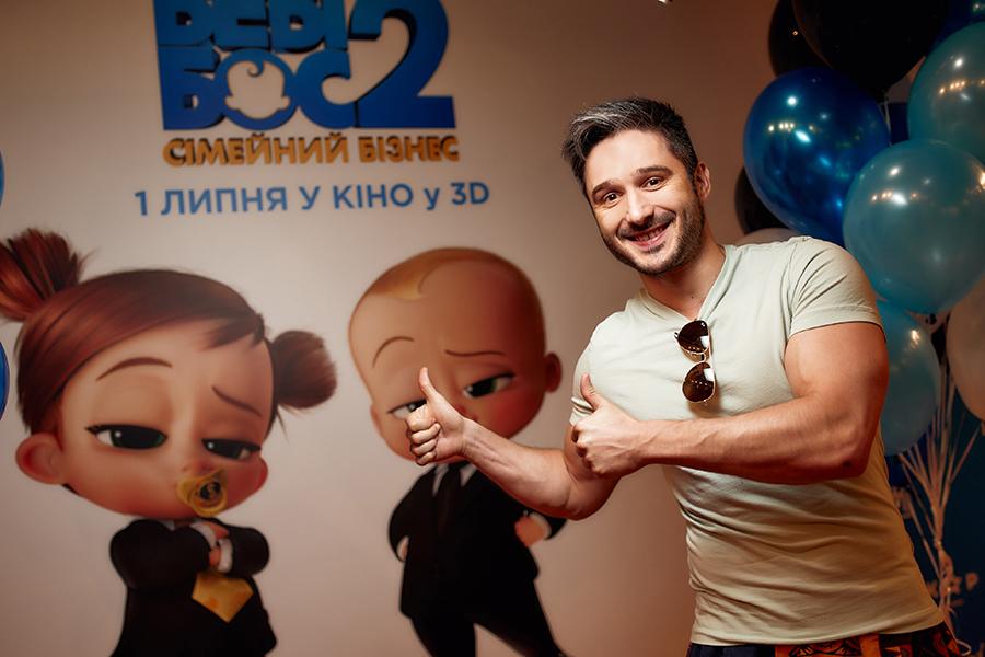 украиские звезды кино светская хроника премьера беби босс 2