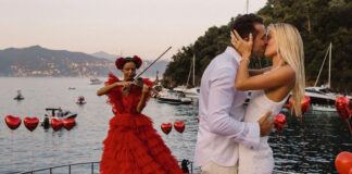 ангел Victoria's Secret фрида аасен помолвка свадьба кольцо бриллианты