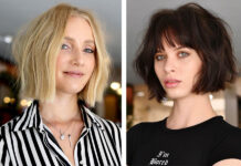 стрижка мягкий боб модная осень 2021 короткие волосы