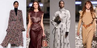самые модные платья осень зима 2021 2022
