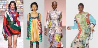 платье лето 2021 пэчворк принты модные