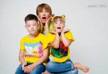 андретан звезды дети благотворительность