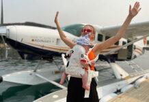 всилиса фролова сын отдых отпуск на море в купальнике