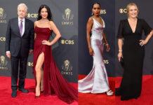эмми 2021 кто победил самые красивые платья красная дорожка
