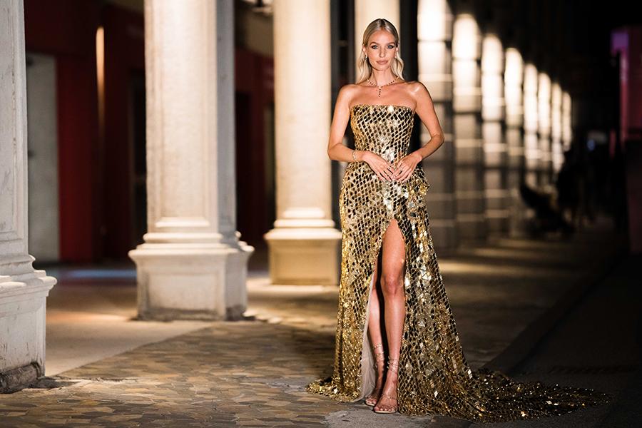 леони ханне платье украинский бренд вечернее венецианский кинофестиваль