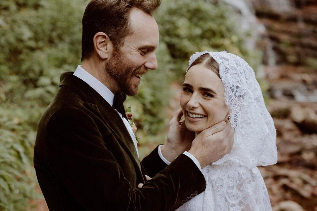 лили коллинз эмили в париже вышла замуж свадьба муж