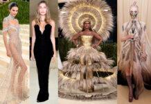 met gala 2021 платья наряды гости звезды