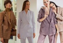 модный женский брючный костюм украинский бренд осень 2021