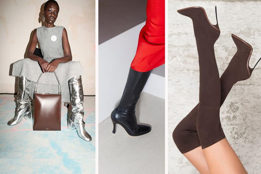 модные сапоги осень зима 2021 2022