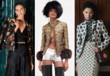 жакет пиджак модный осень 2021 тренд принты цветы гобелен звериный