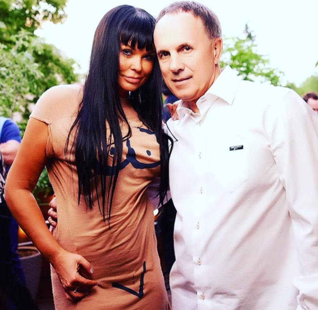Ассия Ахат с мужем Игорем