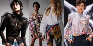 модные блузы осени 2021