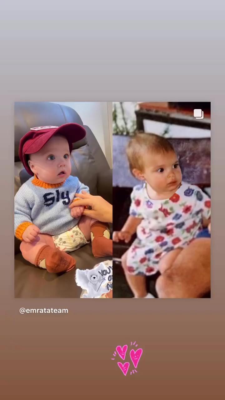 эмили ратаковски сын показала лицо как выглядит на кого похож