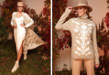 андре тан катя осадчая коллекция осень 2021 мода кашемир шелк