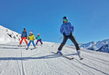ишгль австрия лыжи кататься зима 2021 2022