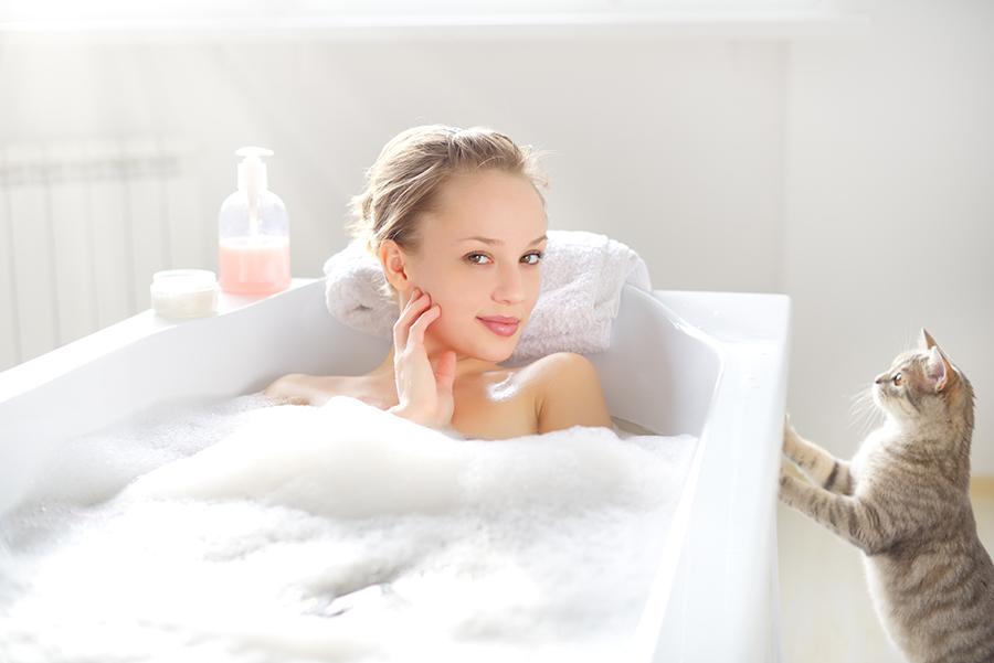 гель для душа пена для ванны купание мифы