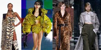 модный звериный принт осень 2021 как с чем носить