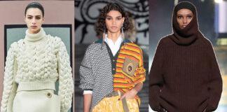 модный свитер осень зима 2021 2022